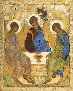 300px-Angelsatmamre-trinity-rublev-1410 (300x374, 51Kb)