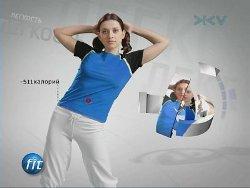Бодифлекс с Мариной Корпан (Цикл передач канала ЖивиТВ) - 8 занятий (2009)