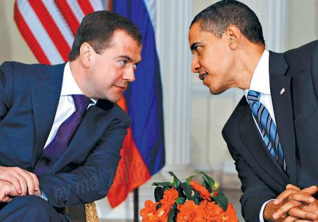 Барак Обама, как ожидается, будет в Москве 6-8 июля на своем первом саммите с Дмитрием Медведевым - они, как ожидается, согласуют сроки сокращения ядерных арсеналов до 50 процентов.