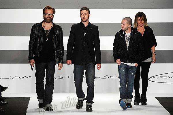 Коллекция Justin Timberlake на Неделе моды в Нью-Йорке