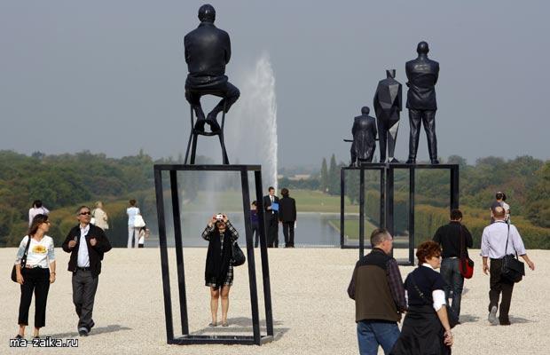 Скульптуры Ксавье Veilhan