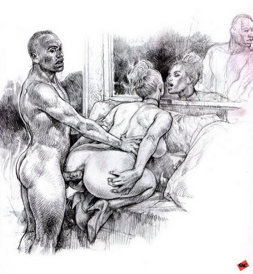 Рисованое порно картинки фото 208-847