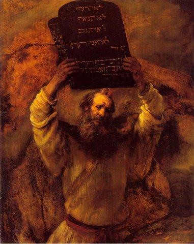 рембрант моисей