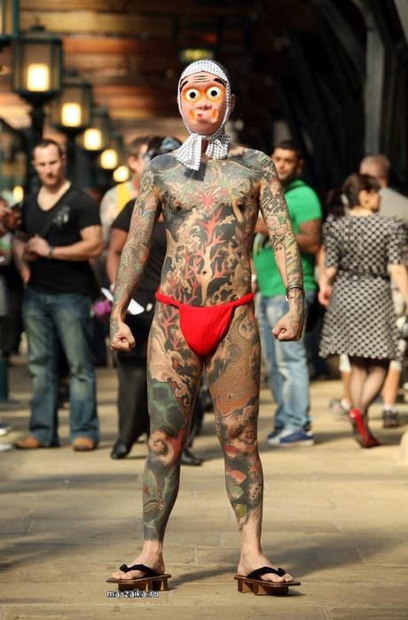 Международная Лондонская Тату Конвенция (International London Tattoo ConventioN)