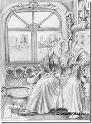 Маг Игнациус, герой романов Ника Перумова