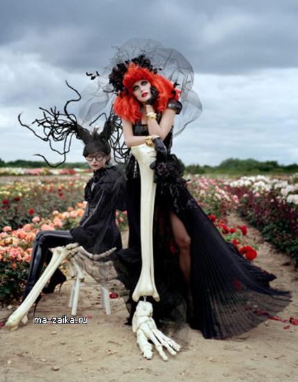 Ведьмовская мода Тима Бертона