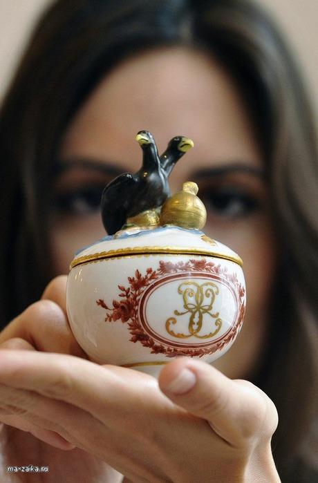 Русский сервиз Екатерины Великой на Christie's аукционе, 2 октября 2009