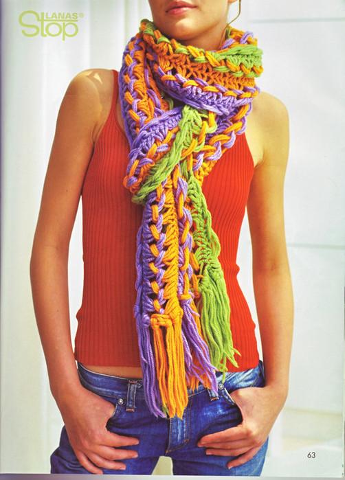 Пора вязать теплые и красивые шарфы