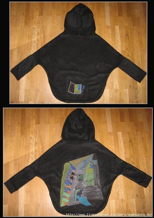 Куртка из флиса -птицы (493x698, 47Kb)