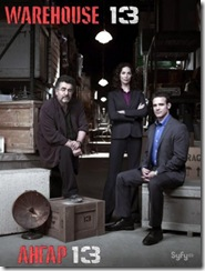 Warehouse 13, Ангар 13 сериал
