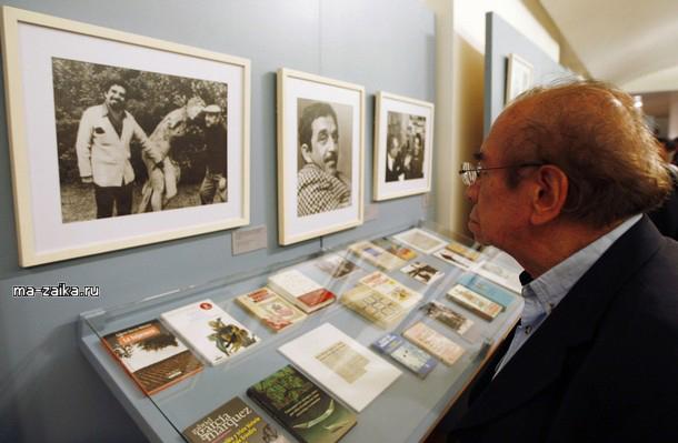 Выставка о жизни Габриэля Гариса Маркеса, Мехико, 8 октября 2009.