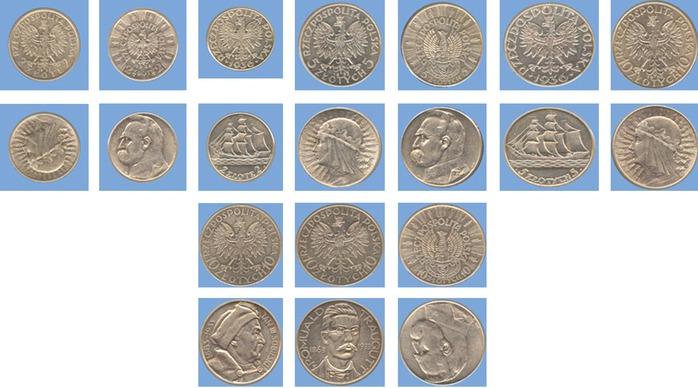 Польские серебряные монеты адам мицкевич купить