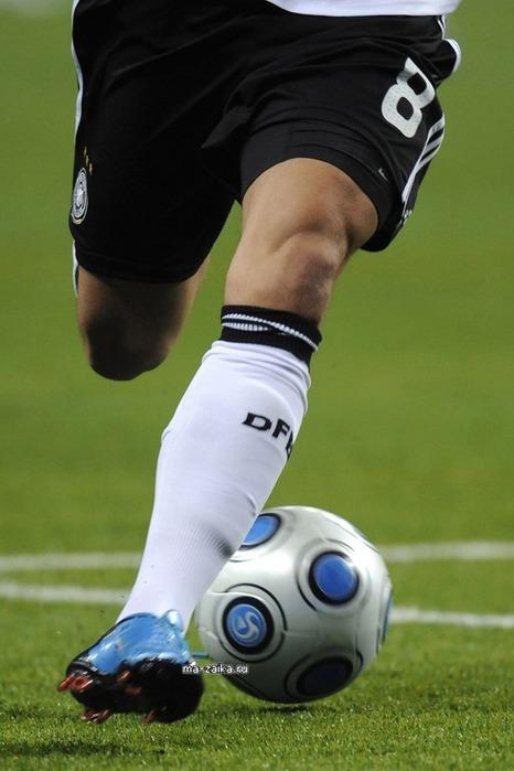 Футбол: Россия - Германия (0-1)