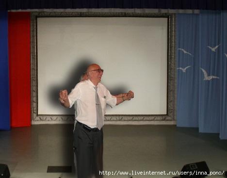 """Б.Желдаков и В.Рекало играют миниатюру """"Давайте разберемся!"""""""