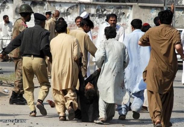 Террор в Лахоре, Пакистан, 16 октября 2009