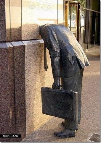 памятник успешному менеджеру