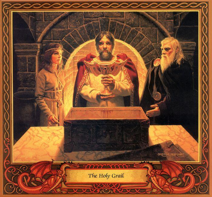 Greg Hildebrandt,The Holy Grail