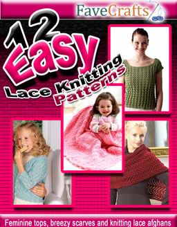 12 Easy Lace Knitting Patterns