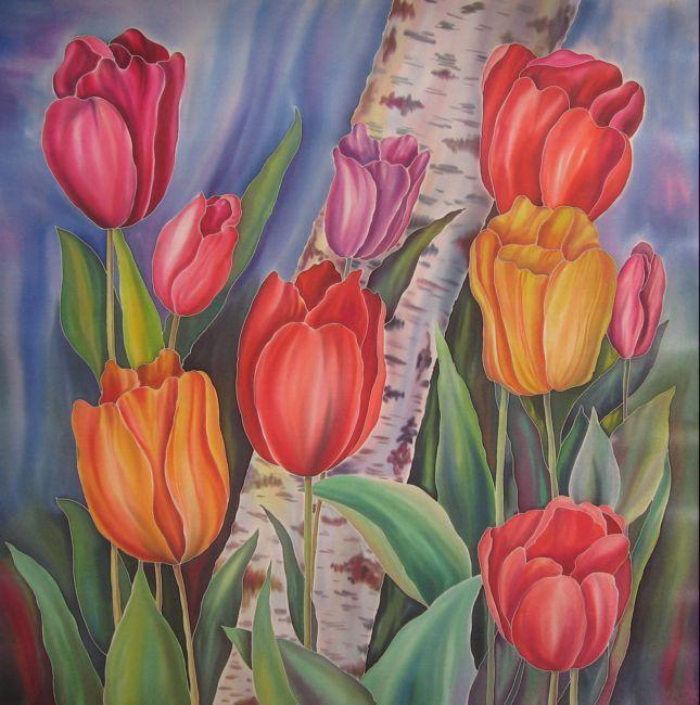 Искусство росписи по шелку (для начинающих)  50023255_5844