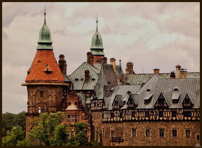 фото,мир,история,путешествия, архитектура,замки,силезия,ключ на силезию