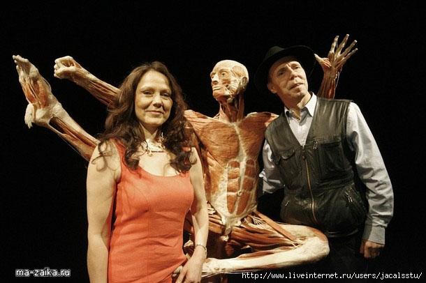 Выставка 'Тело миров' в Сингапуре от Гюнгера фон Хагенса