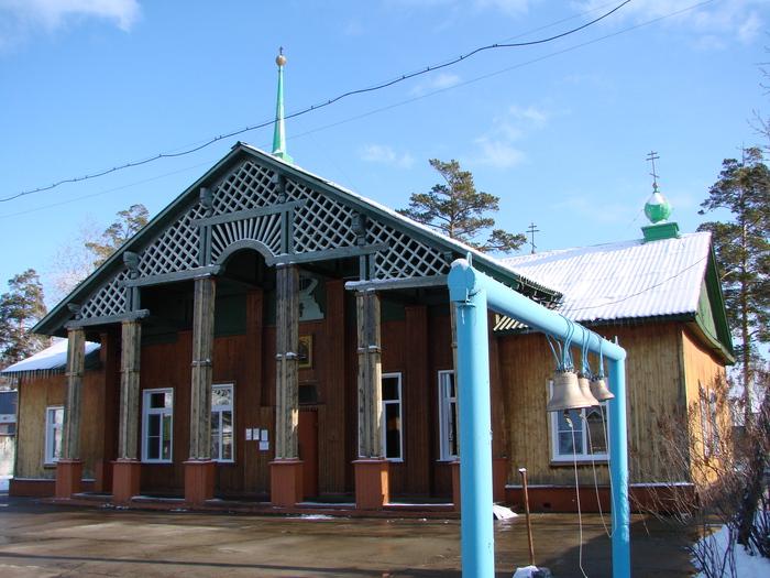 церковь Успения Ангарск