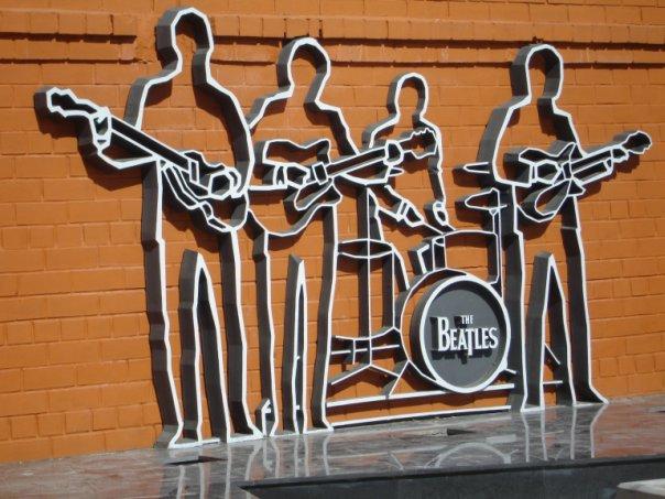 Памятник Beatles в Екатеринбурге