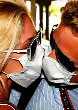 Поцелуй свиного гриппа / Свиной грипп
