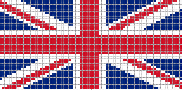 чехол с британским флагом
