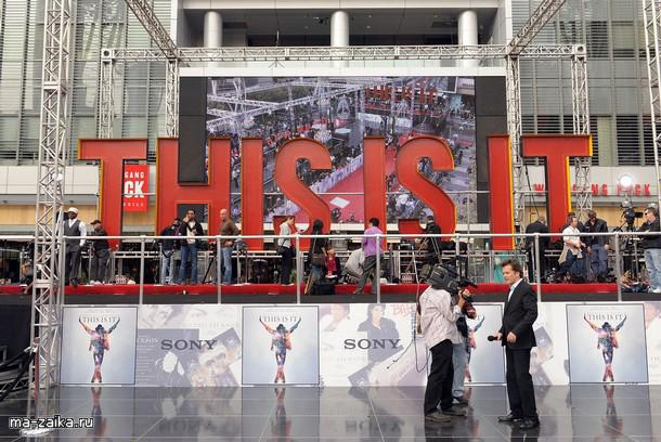 Звезды на мировой премьере 'This Is It' в Лос-Анджелесе, 27 октября 2009.