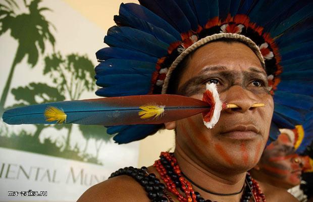 Игры коренных Наций в Бразилии: индейцы Амазонии соревнуются в спортивных мероприятиях