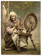 50779074 1257421412 180pxirish spinning wheel Прялки