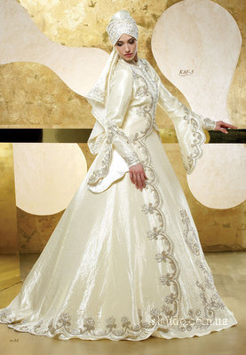 Прокат свадебные платья мусульманское