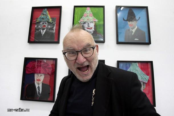 Искуство бельгийкого художника Яна Bucquoy в Музее дю Slip или музее трусов в Париже, 5 ноября 2009 года.