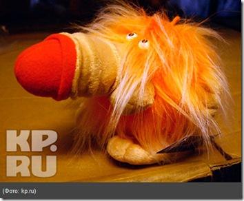 неизвестное науке плюшевое животное хуенос или носохуй, в общем тот, у кого носяра большой при боково ветре голову на бок поворачивает