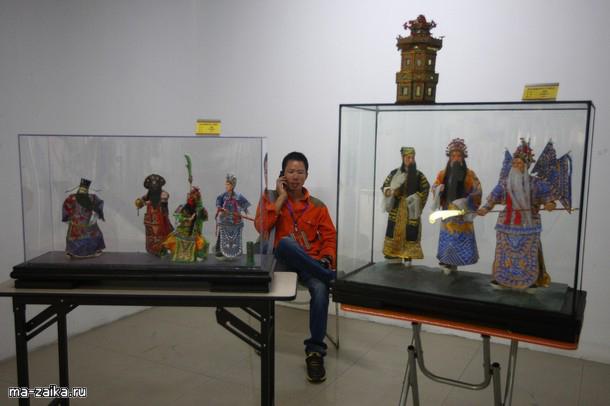 Первая Вэньчжоу традиционных народных искусств Экспо 7 ноября 2009 года в Wezhou провинции Чжэцзян, Китай.