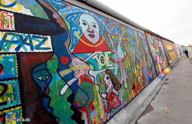 Берлинская стена: Востановление галереи  восточной стороны