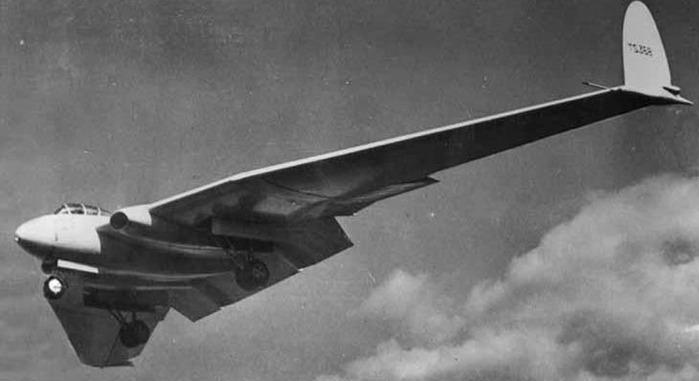 самолетов бесхвостой схемы