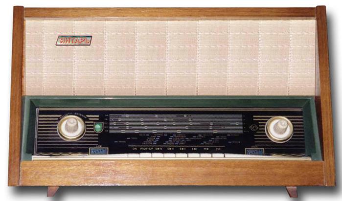 Сетевой ламповый радиоприёмник
