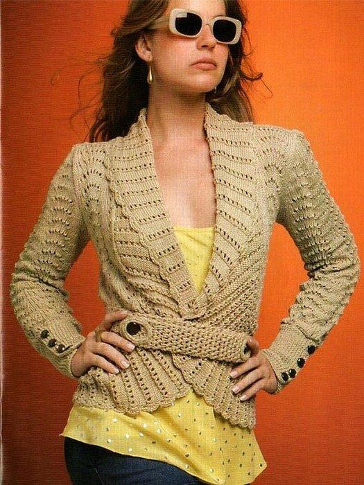 рукоделие,вязание,жакет,одежда,красивый,короткий жакет,вязание крючком,своими руками,схема вязки