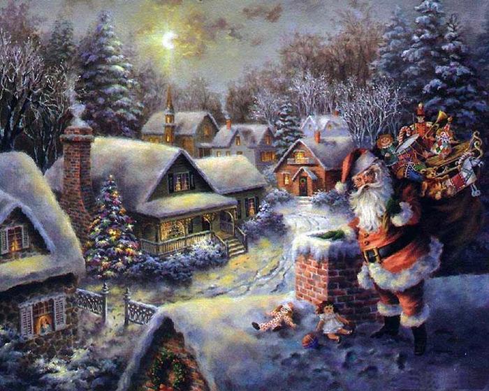 Санта-Клаус (700x560, 193Kb)