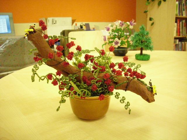 Цветы из бисера 95944