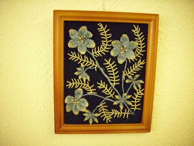 Цветы из бисера 23654