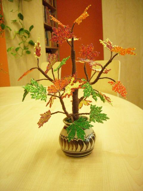 Деревья из бисера 18273