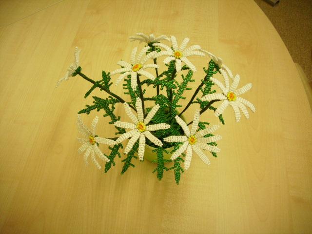 Цветы из бисера 71510