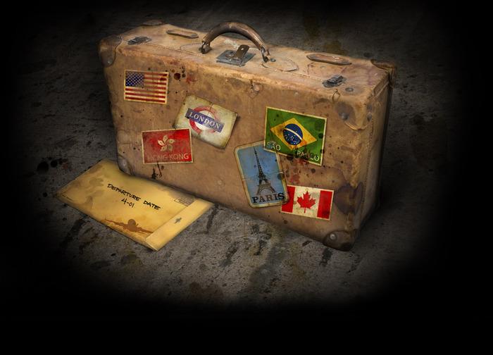 чемодан путешественника