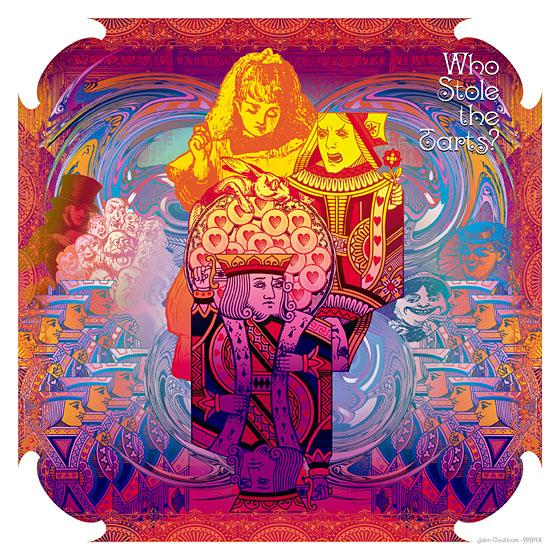 """Календарь 2010 """"Психоделическая страна чудес"""" (""""Psychedelic wanderland"""") от джона Коулхарта (John Coulthart)"""