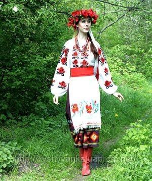Украинская вышивка для одежды