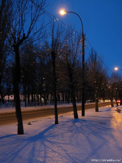 зима Воронеж