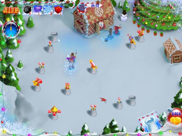 Новогодний переполох мини игра